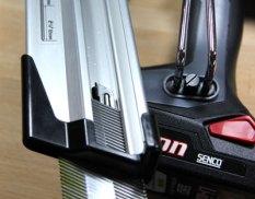 Senco Fusion Finish Nailer Loading Nails from Bottom