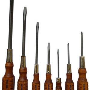 Wilde Wood Handled Screwdrivers