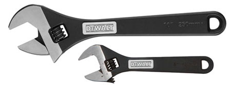 Dewalt Heavy Duty Adjustable Wrenches