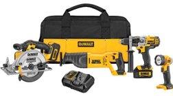 Dewalt 20V Max Cordless Power Tool Combo Kit DCK491L2_K1