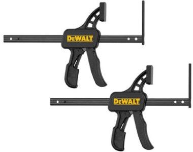 Dewalt TrackSaw Clamps