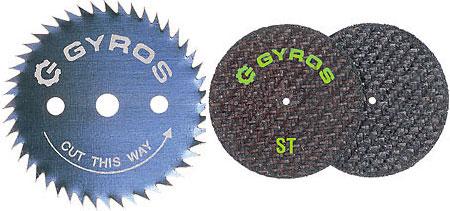 Gyros Dremel Style Circular Saw Blade and Cut Off Wheel