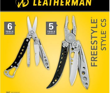 Leatherman Freestyle and Style CS Combo Pack