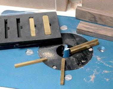 Rockler Brass Setup Bars