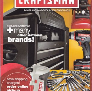 Craftsman 2011-2012 Catalog Cover Small