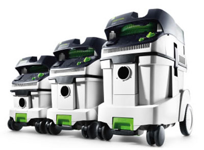Festool CT 26 CT 33 CT 48E Dust Extractor Lineup