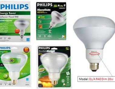 Philips EnergySaver Marathon Dimmable Bulb Recall