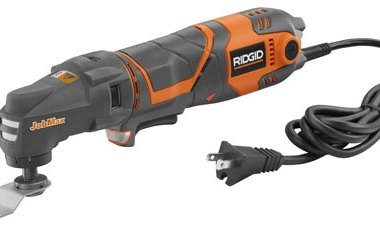 Ridgid JobMax 3 Amp Corded Multi-Tool Starter Kit