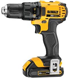 DEWALT DCD780C2 20-Volt MAX Li-Ion Compact Drill Driver Kit
