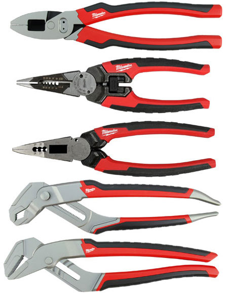 Milwaukee Pliers Wire Strippers Combo Pliers