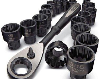 Craftsman Max Axess Universal Socket Set