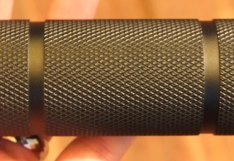 Dewalt LED Flashlight 3D Knurling Closeup