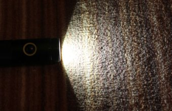 Dewalt LED Flashlight 3D Reflector Module Removed