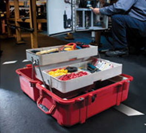 Pelican Cases 1460Tool Mobile Tool Chest Open Lid