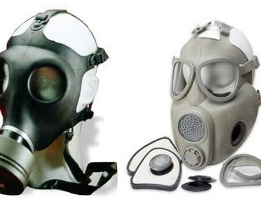 Israeli and Czech Surplus Gas Masks