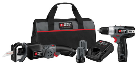 Porter Cable ClampSaw and Drill Combo Kit