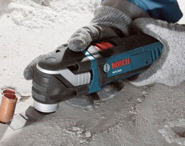 Bosch Multi-X MX30E Oscillating Multi-Tool Cutting