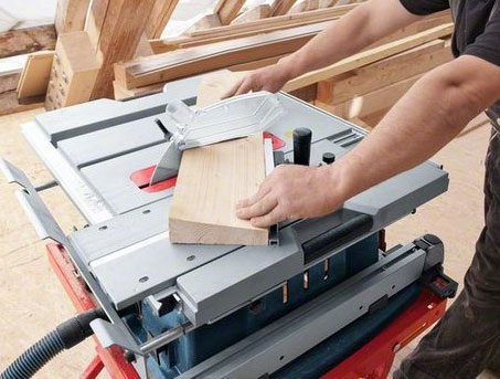 Bosch GTS 10 XC Professional Table Saw Sliding
