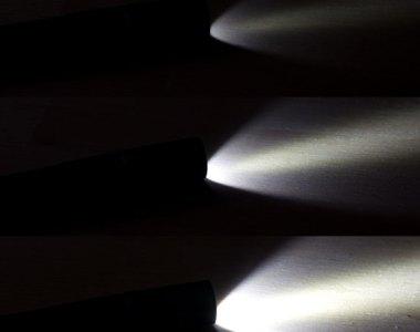 4Sevens Preon 2 LED FLashlight Light Levels