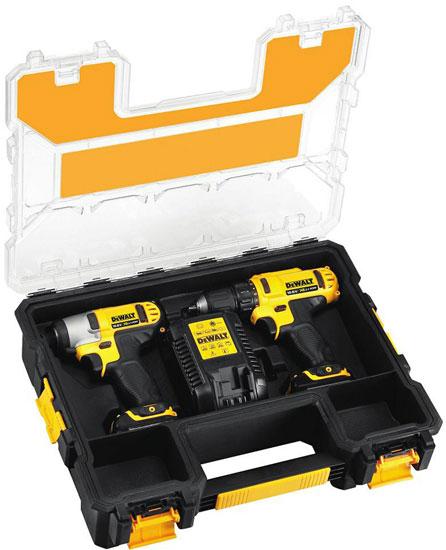 Dewalt 12V Max Tool Case Open
