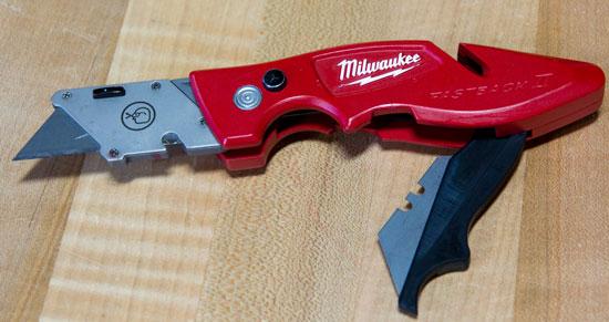 Milwaukee FastBack 2 Knife