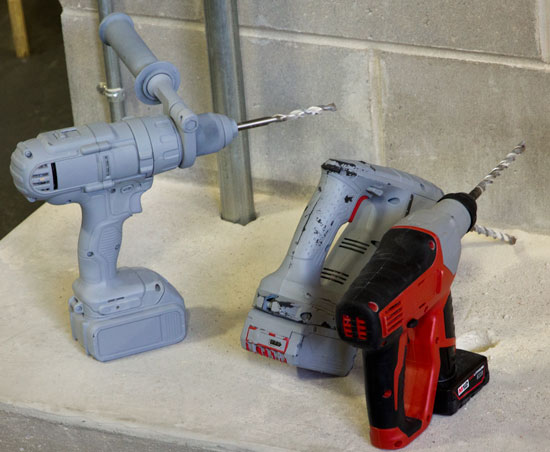Milwaukee M12 Rotary Hammer Size Comparison