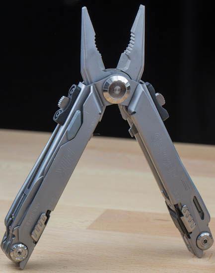 Gerber Flik Multi-Tool Pliers Deployed Open