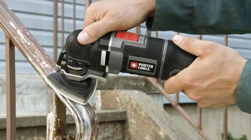Porter Cable Oscillating Multi-Tool PCE605K Sanding