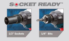 Bosch CORE Brushless Impactor Socket Ready Chuck
