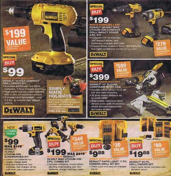 Home Depot Black Friday 2012 Tool Deals 8
