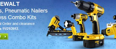 Lowes 15 Percent off Dewalt Miter Saws and Cordless Tool Combo Kits