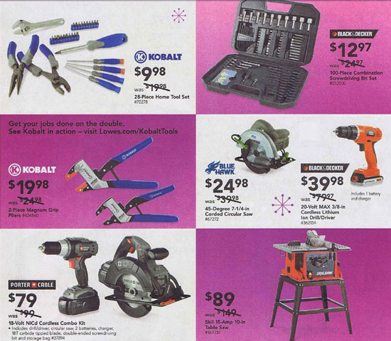 Lowes Black Friday 2012 Tools 5