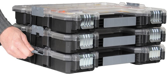 Stanley Shallow Organizer Stacked