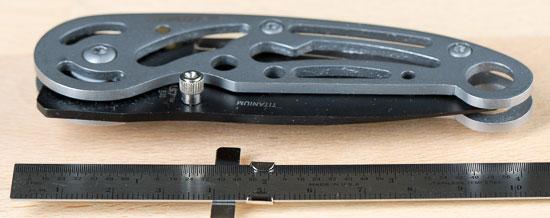 Coast Skeleton Knife Size