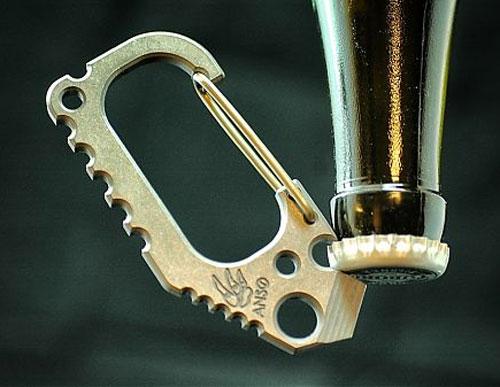 Anso Carabiner Bottle Opener