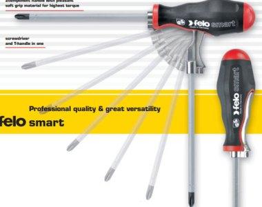 Felo Smart T-Handle Interchangeable Screwdriver