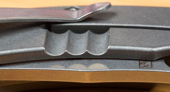 Spyderco Southard Knife Cutout and Stonewash Finish