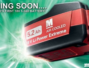 Metabo 5-2Ah Li-ion Battery Pack
