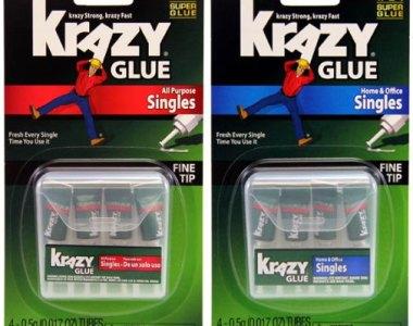 Krazy Glue Single Use Packets
