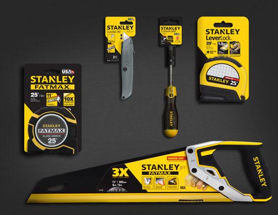 Stanley Tools New Look 2013