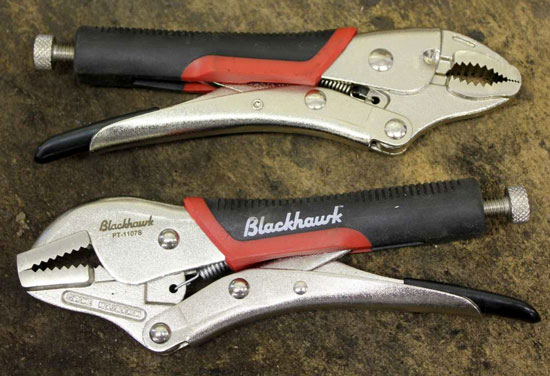 Blackhawk Locking Pliers Mechanism
