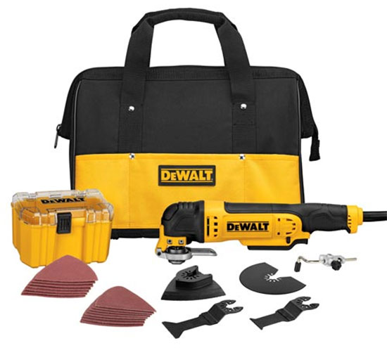 Dewalt DWE315K Oscillating Tool Kit