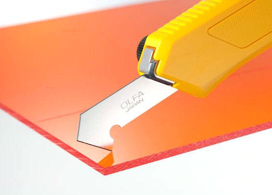 Plastic Scoring Blade Proper Cutting Angle