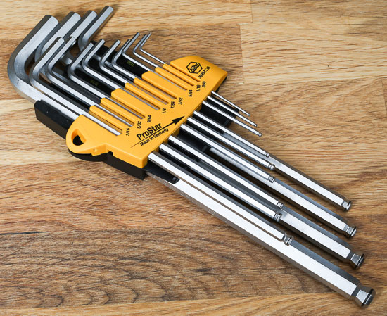 Wiha Magic Ring Hex Key Inch Set