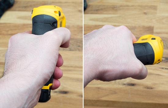 Dewalt 8V Gyroscopic Screwdriver Pistol Grip Rotation