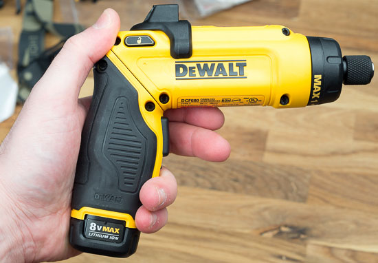 Dewalt 8V Gyroscopic Screwdriver