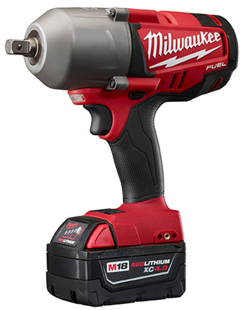 Milwaukee M18 Fuel Brushless Impact Wrench Half Inch Pin