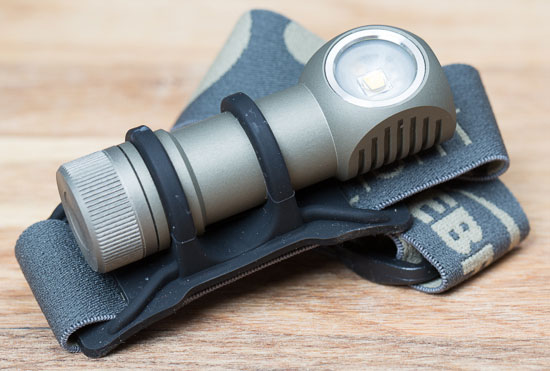 Zebralight H502W LED Headlamp with Headband