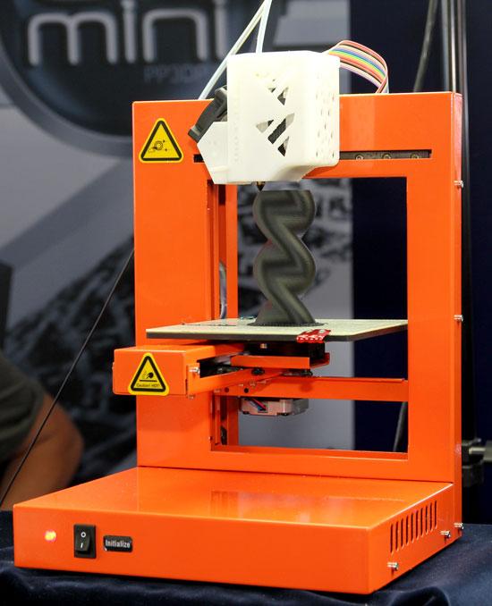 Maker Faire NYC 2012 3D Printer