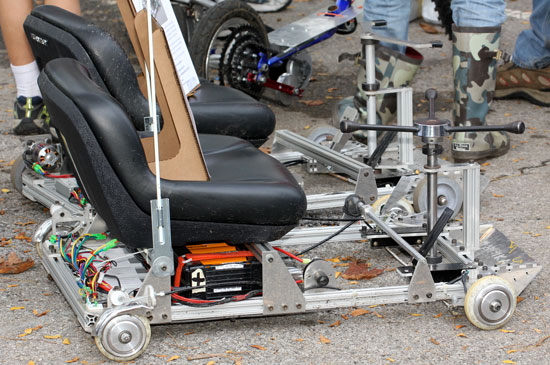 Maker Faire NYC 2012 Mini Go Cart